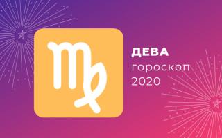 Дева: гороскоп 2020 (карьеры, любви, семьи и финансов)